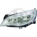 Phare chrome OPEL ASTRA J