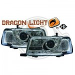 Phare à LED Dragon lights Audi 80 chrome