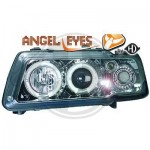 Phares design Angel Eyes Chrome Audi A3