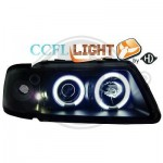 Phare angel eyes cristal noir Audi A3