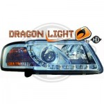 Phares à LED diurnes dragon lights chrome Audi A3
