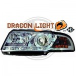 Phares à LED diurnes dragon lights Audi A4