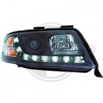 Phares design Audi A6 dragon lights