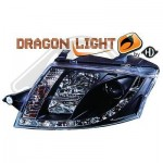 Phares avant design Dragon light Audi TT