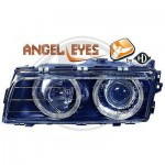 Phares design Angel Eyes BMW série 7 E38