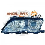 Set de phares design Angel Eyes BMW E46
