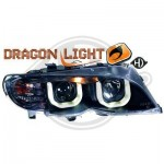 Phares design Dragon lights à LED BMW E46