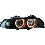 Phares Design XENON Angel Eyes BMW E39 série 5