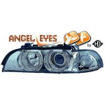 Phares design XENON Angel eyes BMW série 5 E39